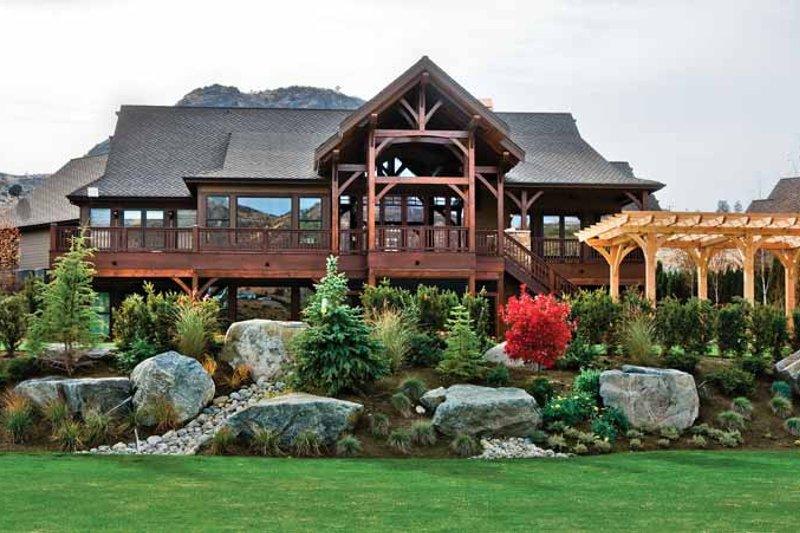House Plan Design - Craftsman Exterior - Rear Elevation Plan #132-561