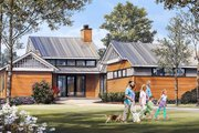 Craftsman Style House Plan - 3 Beds 3 Baths 2390 Sq/Ft Plan #137-377 Exterior - Front Elevation