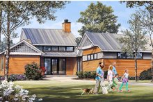 Craftsman Exterior - Front Elevation Plan #137-377