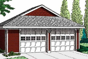 Home Plan Design - Exterior - Front Elevation Plan #410-3607
