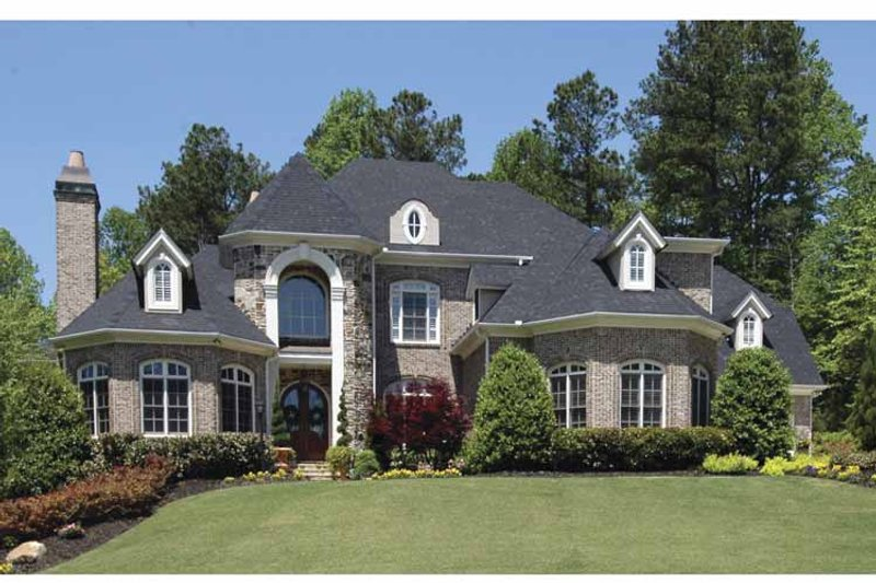 European Exterior - Front Elevation Plan #54-328 - Houseplans.com