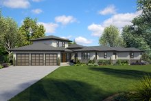 Dream House Plan - Craftsman Exterior - Front Elevation Plan #48-941