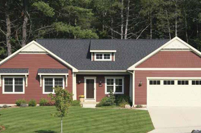 Craftsman Exterior - Front Elevation Plan #928-151