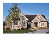 House Design - Ranch Exterior - Front Elevation Plan #51-1069
