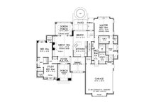 European Floor Plan - Main Floor Plan Plan #929-956