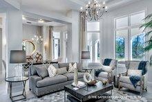 Home Plan - Mediterranean Interior - Family Room Plan #930-473