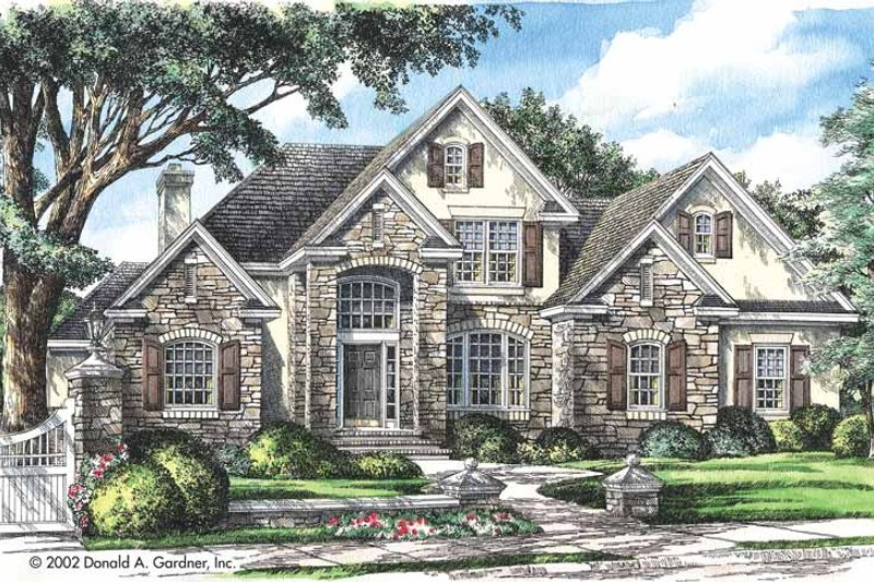 Country Exterior - Front Elevation Plan #929-672 - Houseplans.com