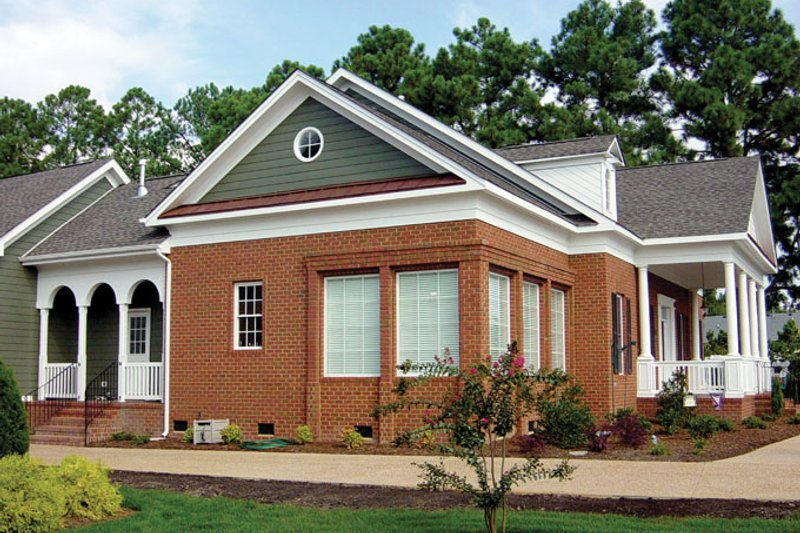Classical Exterior - Other Elevation Plan #137-315 - Houseplans.com
