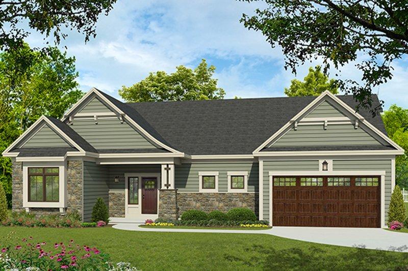 House Plan Design - Ranch Exterior - Front Elevation Plan #1010-189