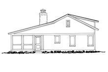 Cabin Exterior - Other Elevation Plan #942-34
