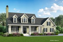 Dream House Plan - Country Exterior - Front Elevation Plan #929-509