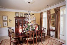 Country Interior - Dining Room Plan #54-183