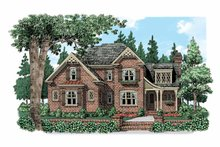 Home Plan - Country Exterior - Front Elevation Plan #927-519