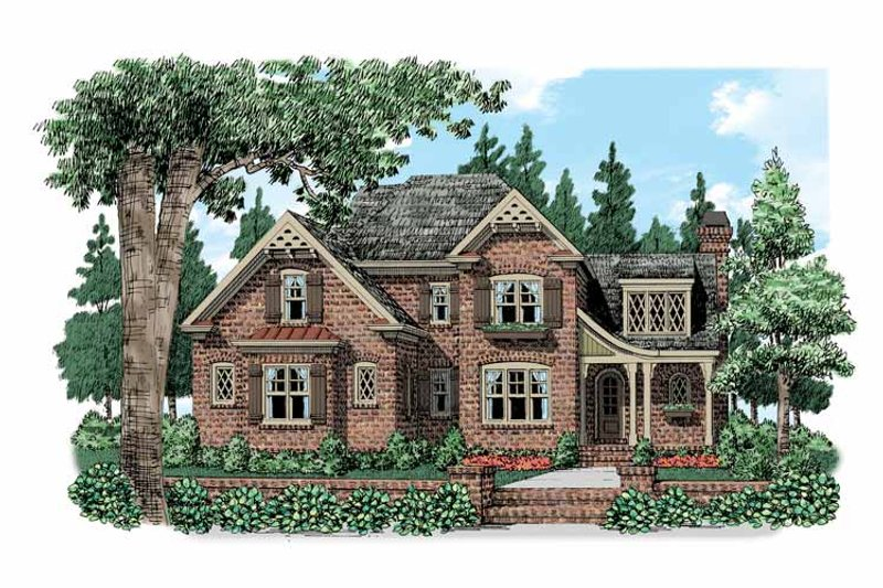 Country Exterior - Front Elevation Plan #927-519 - Houseplans.com