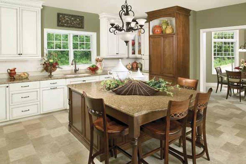 Victorian Interior - Kitchen Plan #928-35 - Houseplans.com