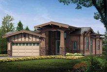 Dream House Plan - Craftsman Exterior - Front Elevation Plan #132-277