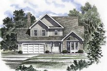 Architectural House Design - Traditional Exterior - Front Elevation Plan #316-159