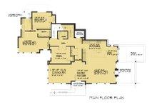 Modern Floor Plan - Main Floor Plan Plan #1066-43