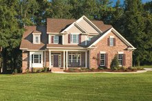 House Plan Design - Traditional Exterior - Front Elevation Plan #927-862