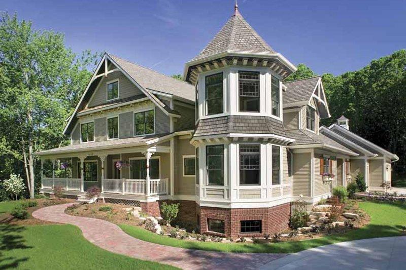 House Plan Design - Victorian Exterior - Front Elevation Plan #928-35