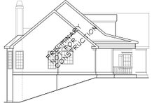 Classical Exterior - Other Elevation Plan #927-767