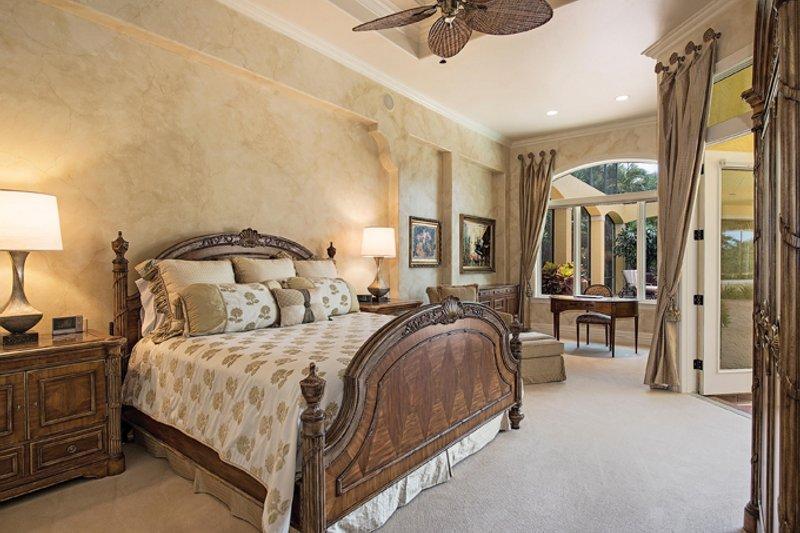 Mediterranean Interior - Master Bedroom Plan #930-413 - Houseplans.com
