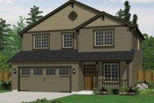 Architectural House Design - Craftsman Exterior - Front Elevation Plan #943-18