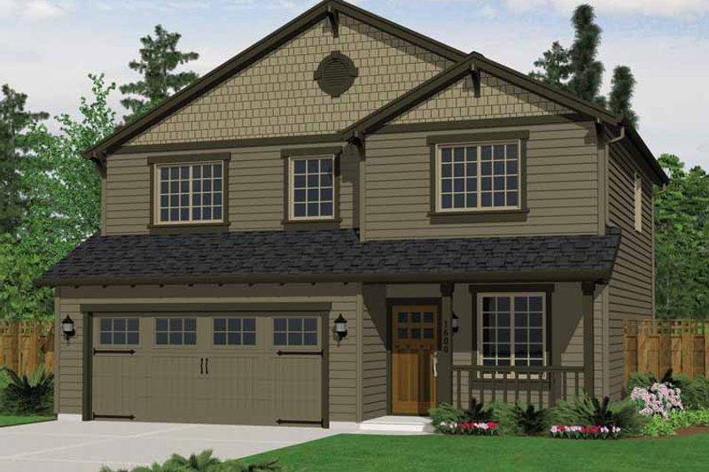 Dream House Plan - Craftsman Exterior - Front Elevation Plan #943-18