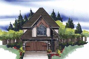Home Plan - Cottage Exterior - Front Elevation Plan #509-140