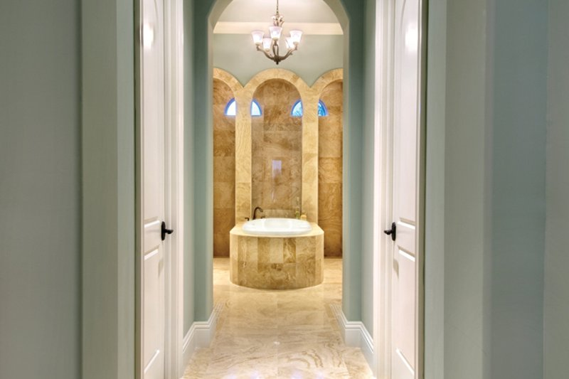 Mediterranean Interior - Master Bathroom Plan #930-446 - Houseplans.com