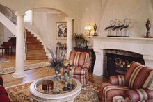 Home Plan - European Interior - Family Room Plan #952-208