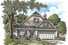 Craftsman Exterior - Front Elevation Plan #929-869