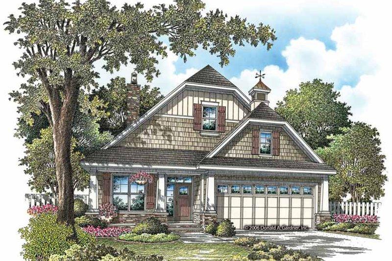 Craftsman Exterior - Front Elevation Plan #929-869 - Houseplans.com