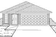 Traditional Style House Plan - 3 Beds 2 Baths 1245 Sq/Ft Plan #84-296 Exterior - Other Elevation