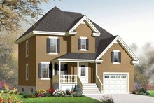 House Design - Country Exterior - Front Elevation Plan #23-2538