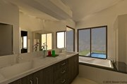 Contemporary Style House Plan - 4 Beds 2.5 Baths 2019 Sq/Ft Plan #489-6 Photo