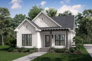 Cottage Style House Plan - 3 Beds 2 Baths 1300 Sq/Ft Plan #430-40 Exterior - Front Elevation