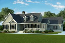 Home Plan - Country Exterior - Front Elevation Plan #929-790