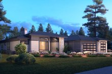 House Plan Design - Contemporary Exterior - Other Elevation Plan #1066-115
