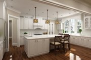 European Style House Plan - 3 Beds 2.5 Baths 2619 Sq/Ft Plan #119-427 Interior - Kitchen