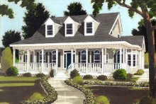 House Design - Classical Exterior - Front Elevation Plan #3-289