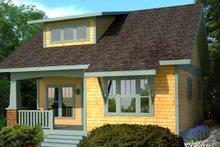 Dream House Plan - Craftsman Exterior - Front Elevation Plan #461-17