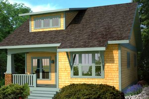 House Plan Design - Craftsman Exterior - Front Elevation Plan #461-17