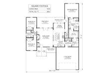 Farmhouse Floor Plan - Main Floor Plan Plan #1074-1