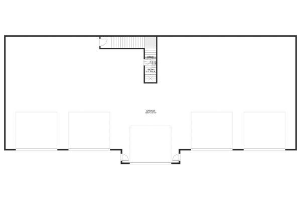 Farmhouse Floor Plan - Main Floor Plan #1060-83