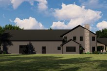 Dream House Plan - Farmhouse Exterior - Other Elevation Plan #1064-110