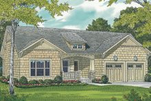 House Design - Craftsman Exterior - Front Elevation Plan #453-64