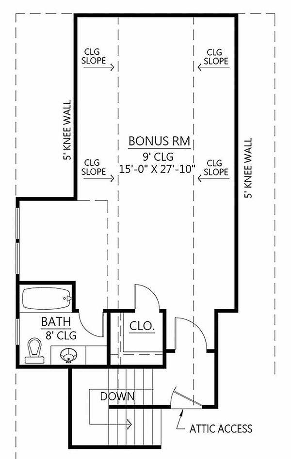 Home Plan - Optional Bonus