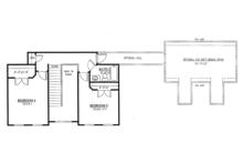 Farmhouse Floor Plan - Upper Floor Plan Plan #437-78