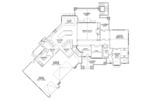Craftsman Floor Plan - Main Floor Plan Plan #945-139